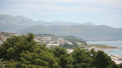 Split Croatia mountains beautiful views of the sea