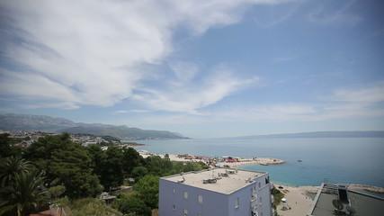 Split Croatia mountains beautiful views of the sea