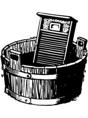 Washboard And Bucket