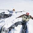 Snowshoeing im Silbertal