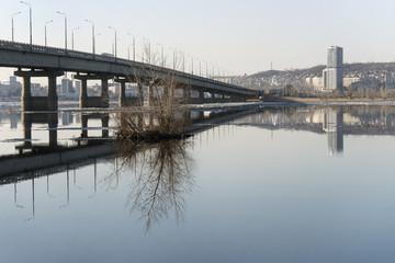 Bridge across the Volga