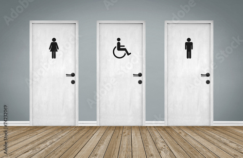 Behindertengerecht / Barrierefreiheit - 74232069