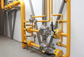 equipment for a reduction of pressure of gas