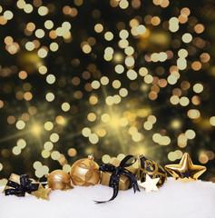 edle weihnachtskarte