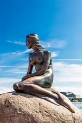 Little Mermaid in Copenhagen, Denmark