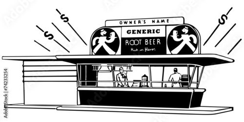 Root Beer Stand - 74233254