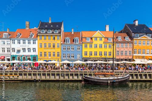 Póster Copenhague, Nyhavn