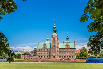 Copenhagen Rosenborg Slot castle