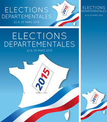 Elections départementales 2015 France-1