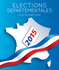 Elections départementales 2015 France-2
