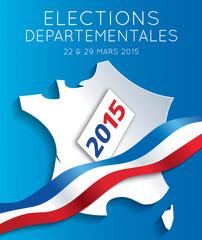 Elections départementales 2015 France-2