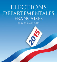Elections départementales 2015 France-3