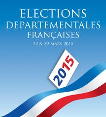 Elections départementales 2015 France-3