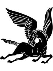 Pegasus Horse Silhouette