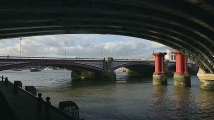 bridges in London with passage underground