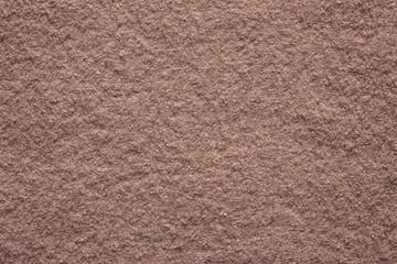 soft texture felt fabric of terracotta color