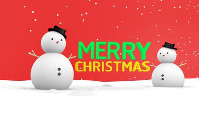 SnowMan Merry X'mas