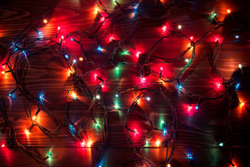 Electric garland