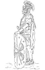 Roman soldier, legionnaire