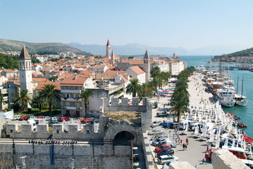 Architecture of the Old Town of Trogir, Croatia