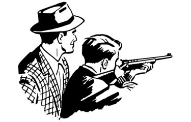 Father And Son Shooting