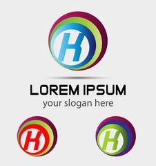 Letter K logo icon design template elements. Vector sign