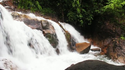 Waterfall in KHAO KHITCHAKUT NATIONAL PARK,Thailand