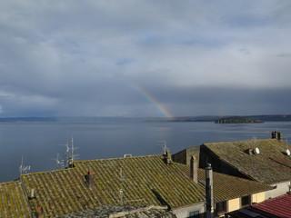 Arcobaleno sul lago di Bolsena