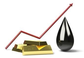 Grafico lingotti petrolio