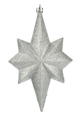 Christmas decoration silver star