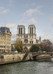 The Cathedral of Notre Dame.