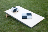 Corn hole boards with bags