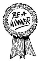 Be A Winner Ribbon