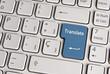Language concept, translate keyboard key.