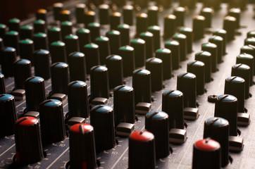 Knobs soundboard