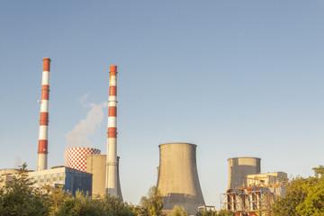 Thermal power station Lagisza, Poland.