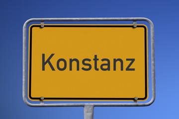 Ortseingangsschild Konstanz
