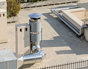 Chimney and ventilation system