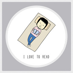 I love to read1