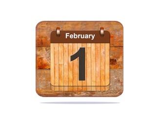 February 1.