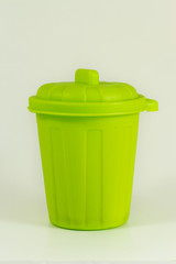 Bidone immondizia verde