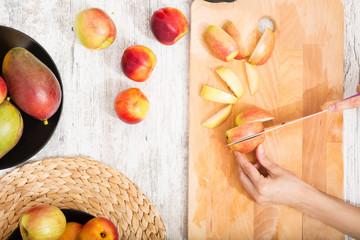Nährwert eines Apfels