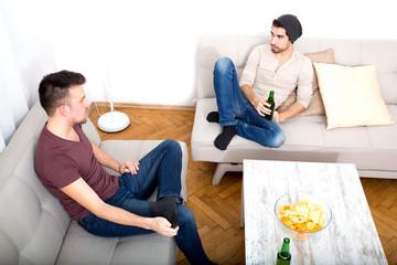 Gespräch unter Freunden
