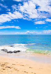 White Sand Vacation Wallpaper