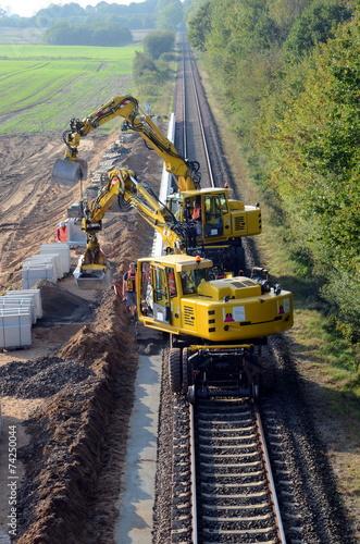 Bahn Baustelle - 74250044