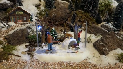winter miniature