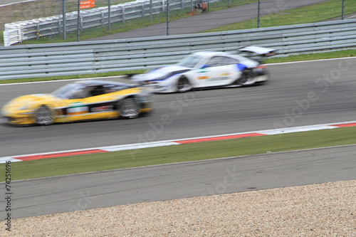 Foto op Aluminium Motorsport zwei Tourenwagen