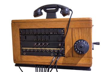 Old induction telephone exchange