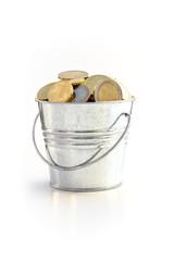 BUCKET FULL OF COINS 2