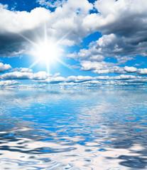 Grand Skyscape Under Sun